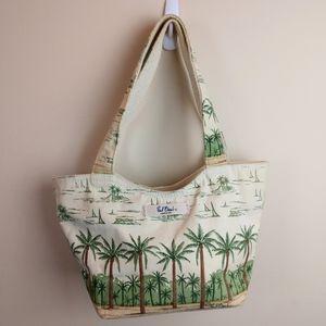Paul Brent Coastal Life Canvas Handbag